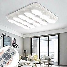 MYHOO 78W Dimmbar Deckenleuchte Modern Deckenlampe