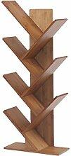 MYJ Furniture Bambus-Bücherregal, einfache Kinder