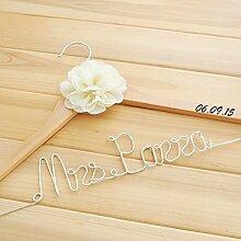 Mylifemylove Hochzeits-Kleiderbügel für