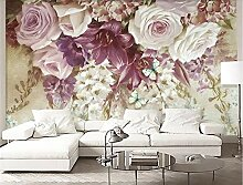 MYLOOO Blumenmalerei Fototapete 3D Tapete, Wand