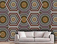 MYLOOO Einfache Geometrie Fototapeten Vlies Wand
