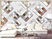 MYLOOO Einfache Geometrie Tapete 3D Tapete, Wand
