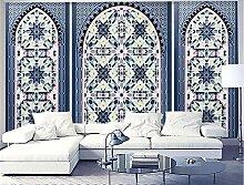 MYLOOO Einfaches Mosaikgitter Fototapeten Vlies