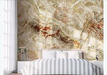 MYLOOO Fototapete Goldene Marmorlandschaft Wand