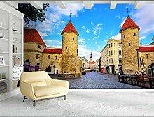 MYLOOO Fototapete Stadt Tallinn, Estland Tapete