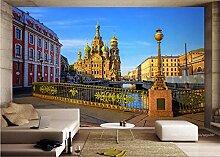 MYLOOO Fototapete Stadt Von Petersburg, Russland