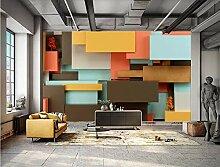 MYLOOO Rechteckstich Tapete 3D Tapete, Wand