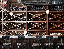 MYLOOO Tapete 3D Vintage Europäische Bar