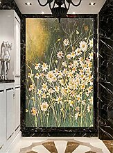 MYLOOO Türposter Sonnenblume Blumenmalerei Tür