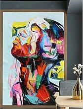 MYLOOO Türtapete 3D Farbige Abstrakte Figuren