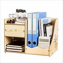 MYMAO Schreibtischablage Regal Bücherregal