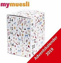 MyMuesli Adventskalender 2019-24 Bio Müsliriegel