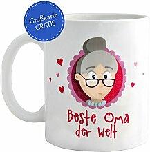 MyOma Beste Oma der Welt * Oma Tasse * Geschenk