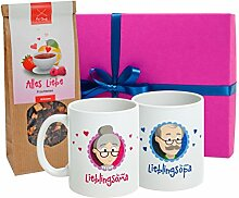 MyOma Oma Opa Geschenkset *Geschenkbox Oma +Opa