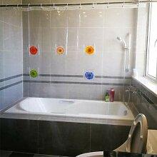 myonly Duschvorhang Liner mit Wasserdicht Media