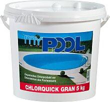 MyPool Chlorgranulat Chlorquick Gran, 5 kg weiß
