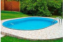 MYPOOL Ovalpool Premium 300 cm, 700 cm, 135 cm