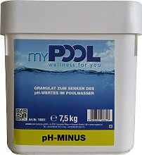 MyPool Poolpflege pH-minus, 7,5 kg weiß