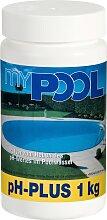 MyPool Poolpflege pHPlus, 1 kg weiß Poolzubehör