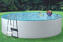 MyPool Rundbecken-Poolset Splash Ø 360 x 90 cm mit Kartuschenfilteranlage