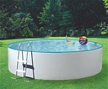 MyPool Rundbecken-Poolset Splash Ø 460 x 90 cm mit Kartuschenfilteranlage