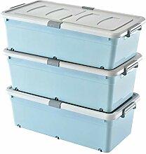 MYQ Aufbewahrungsbox, 3er Pack Bettboden