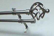 myraumdesign Doppel Gardinenstange Metall