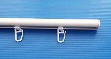 myraumdesign Mini Gardinenschiene Aluminium Weiss