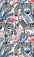 Myspotti LK-S-1044 Fensterfolie Tropical Zebras
