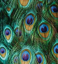 mySPOTTI LK-XL-1099 Fensterfolie Peacock Feathers