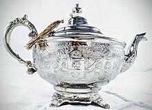 Mystery Souk Marokkanisches Design Silber Teekanne