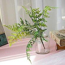Mystes Imitierte Pflanze Künstliche Reihe Farn