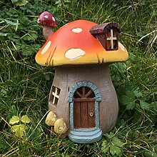 Mystical Mushroom Garden House–Hohe Qualität Outdoor Skulptur–Zauberhafte Geschenkidee 15