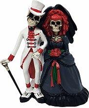 MystiCalls Hochzeit Skelett Brautpaar 14,5cm