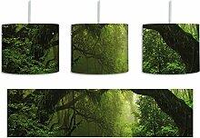 Mystischer Regenwald inkl. Lampenfassung E27,