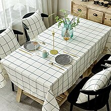 Myzixuan Einfache moderne Tischdecke Baumwolle