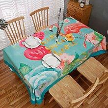 Myzixuan Moderne einfache Tischdecke super weichem