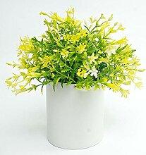 Myzixuan Simulation Topfpflanzen Blumendekoration
