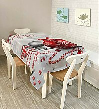 Myzixuan Tabelle Stoff Tischdecke Weihnachts Serie