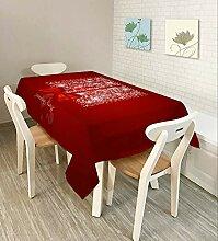 Myzixuan Tabelle Tuch Weihnachts Serie Restaurant