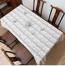 Myzixuan Tischdecke Tisch Schreibtischstudie