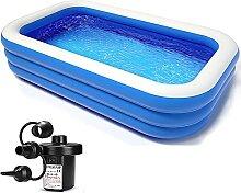 MZBZYU Aufblasbarer Pool, 305x180x75cm