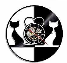 Mzdpp 1 Stück Vintage Design Liebe Katzen