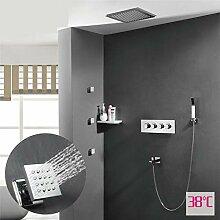Mzdpp Dusche Wasserhahn Verdeckte Thermostat