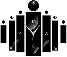 Mzl Acryl Handwerk Digital Uhr Spiegel Uhr