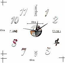 Mzl Kreative Uhr Acrylspiegel dekorativer Spiegel