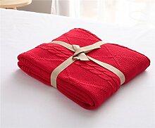 MZMZ-Strick aus Baumwolle Thema Decke Wolldecke-weiten Klimaanlage war Baumwolle , Decke Babydecken,11,120 150 x 180CM