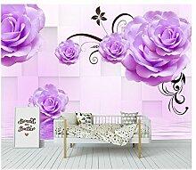 Mznm 3D Fototapete Tapete für Wände 3D Blossom