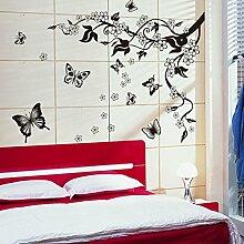 Mznm Butterfly Tree Tv Hintergrund Wandschmuck