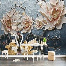 mznm Custom 3D Wandbild Tapete für Wände Rolle